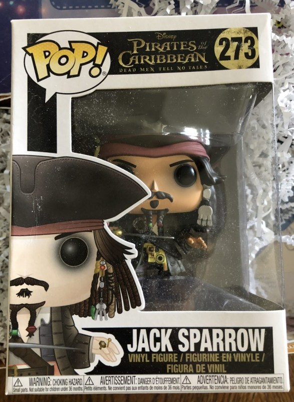 Jack Sparrow Pop Funko Figurine
