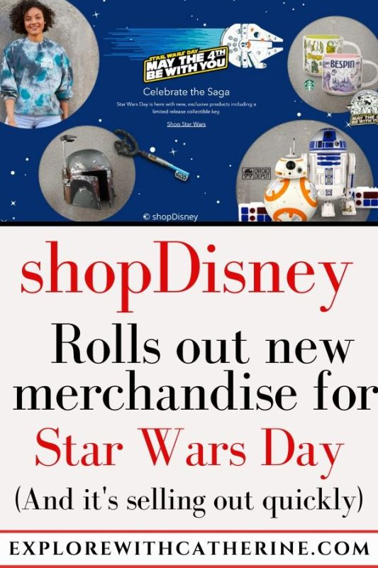 Brand New Star Wars Merch Selling Out Quickly