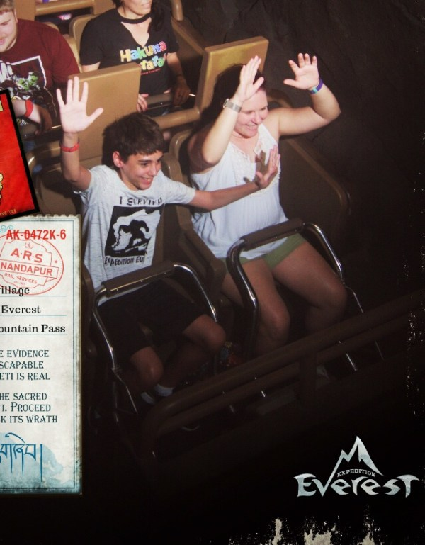 PhotoPass photo from Expedition Everest in Disney's Animal Kingdom