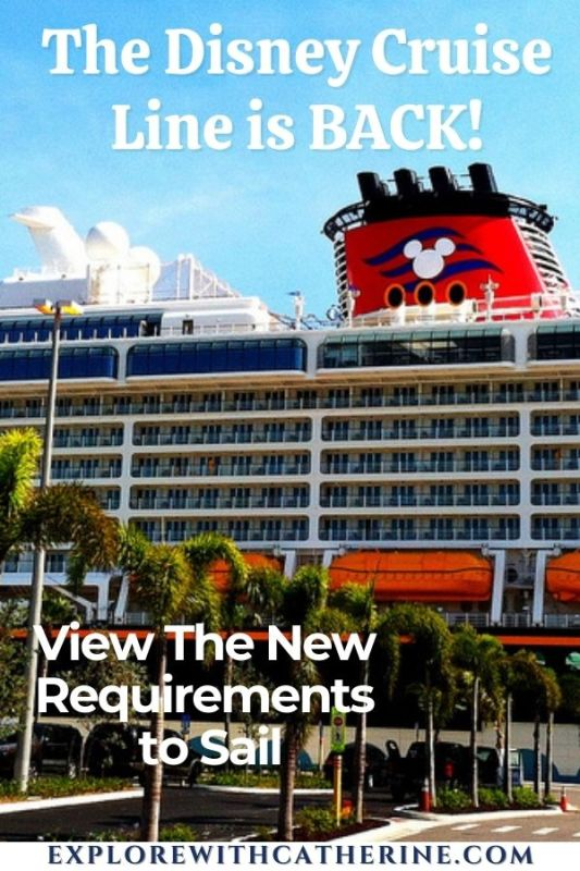 Disney Cruise Line - New Requirements