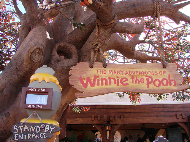 Queue to The Many Adventures of Winnie the Pooh