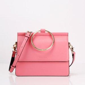 belle and bloom pink handbag