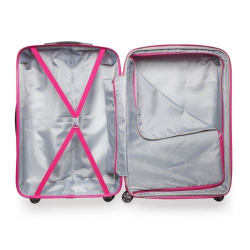 luggage pink and white2