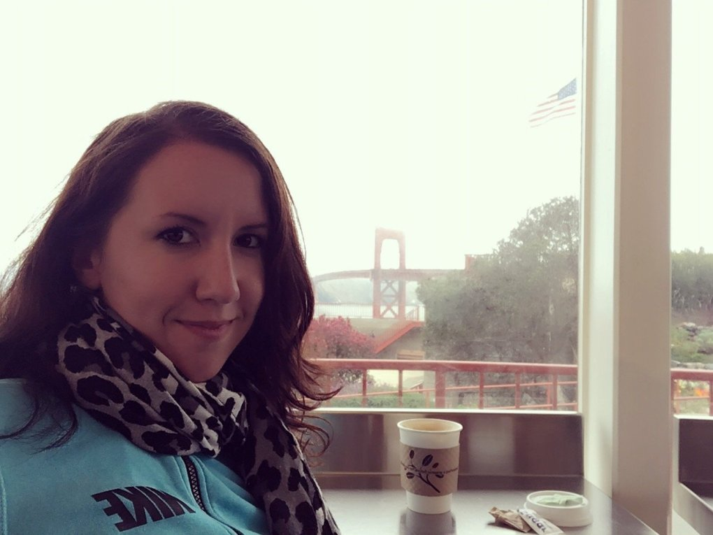 Cafe near the Golden Gate Bridge