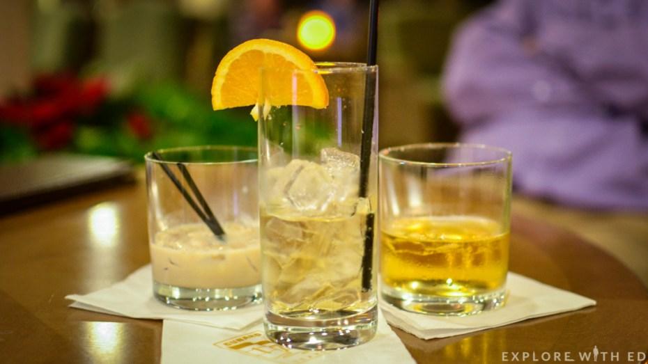 Drinks, Cunard Queen Elizabeth