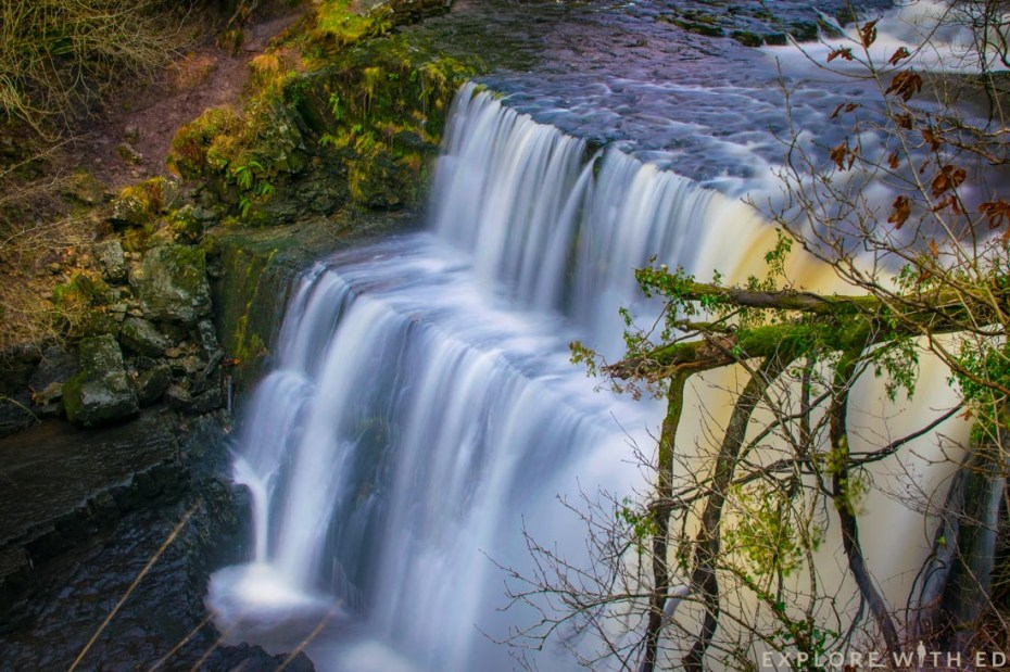 Waterfall country in Brecon Beacons National Park