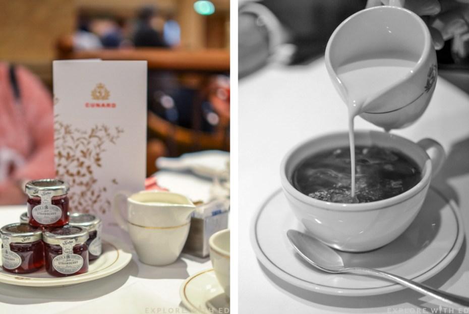 Cunard Afternoon Tea, Queen Elizabeth, Queens Room