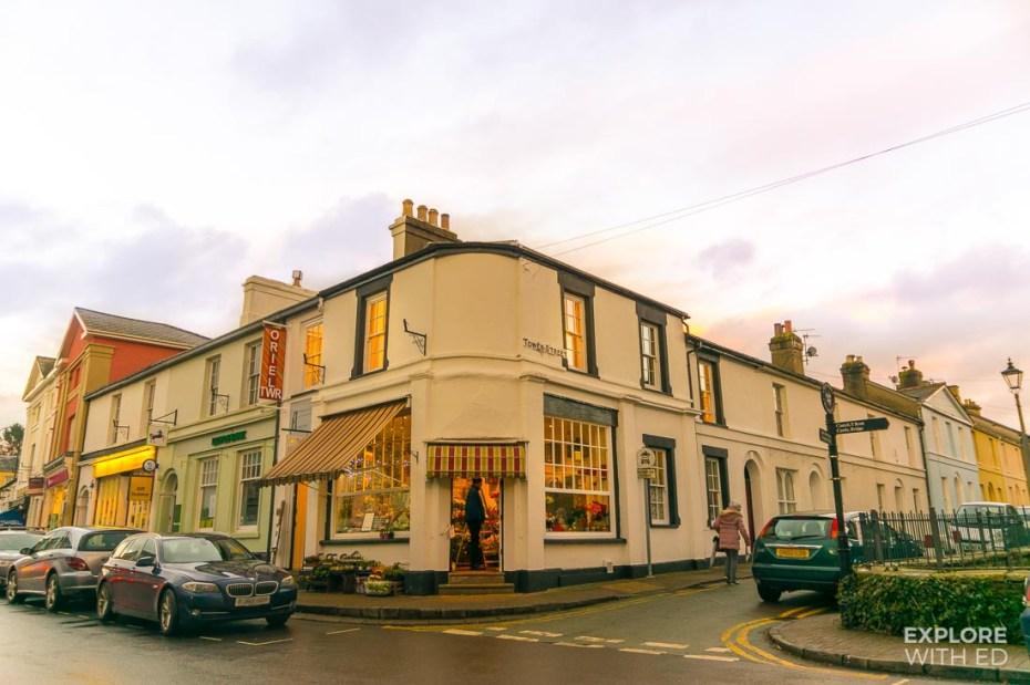 Crickhowell High Street, Shops in Crickhowell