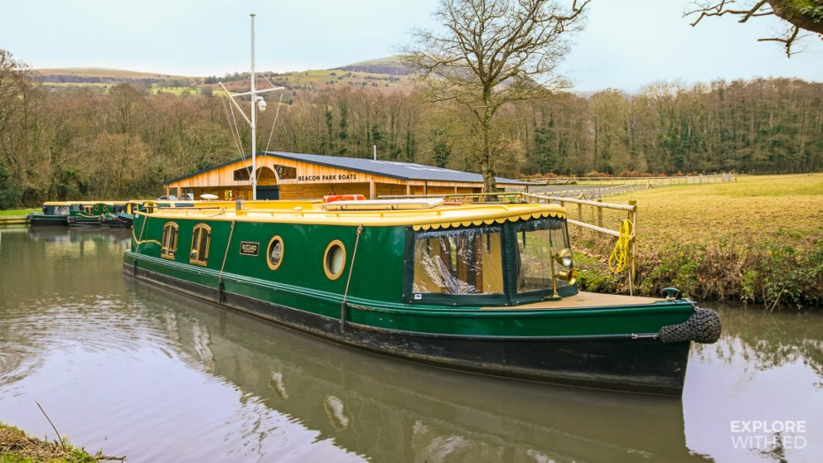 Narrow Boat Holiday in Wales