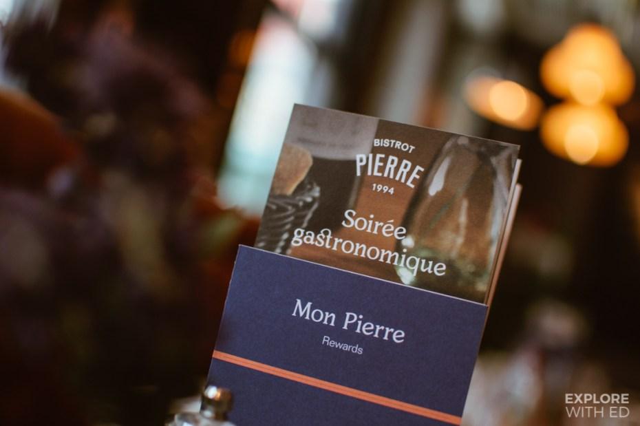 'Mon Pierre' rewards offer at Bistrot Pierres
