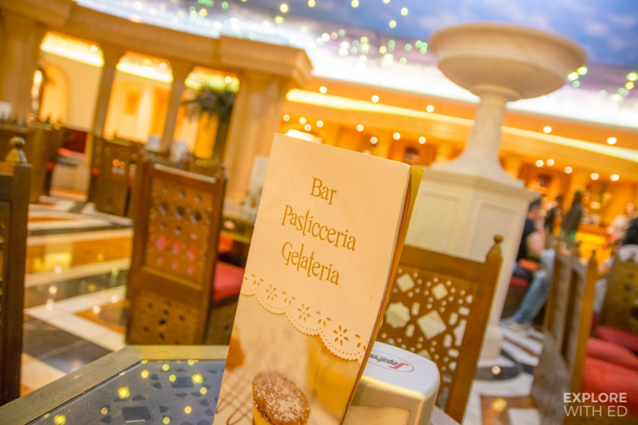 Bar Pasticceria Gelateria on MSC Cruises Preziosa