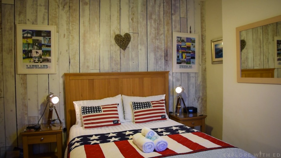 Double room with bath and shower, Langland B&B Review
