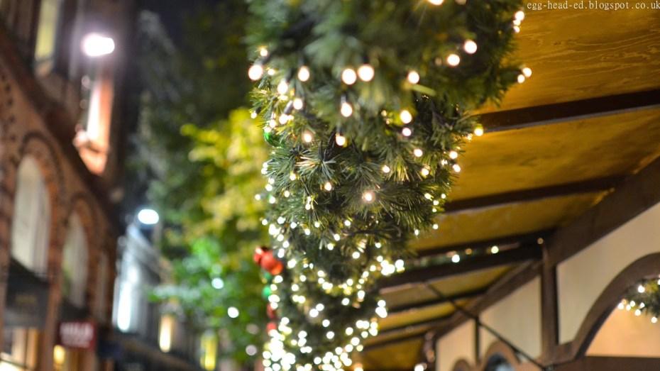Birmingham Christmas Market Stalls