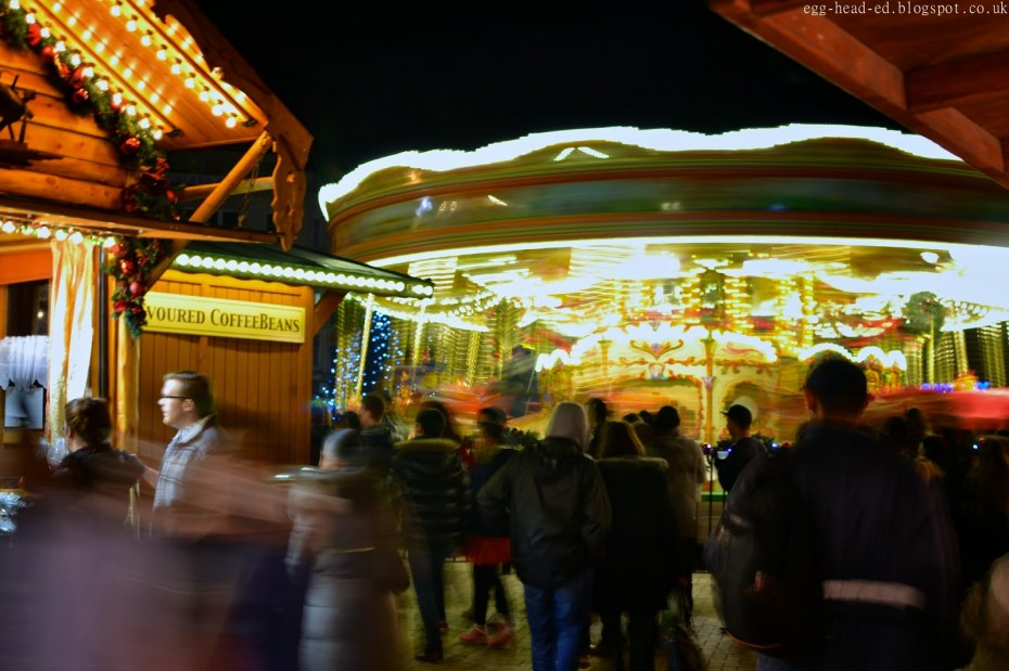 Carousel at Birmingham Christmas Market