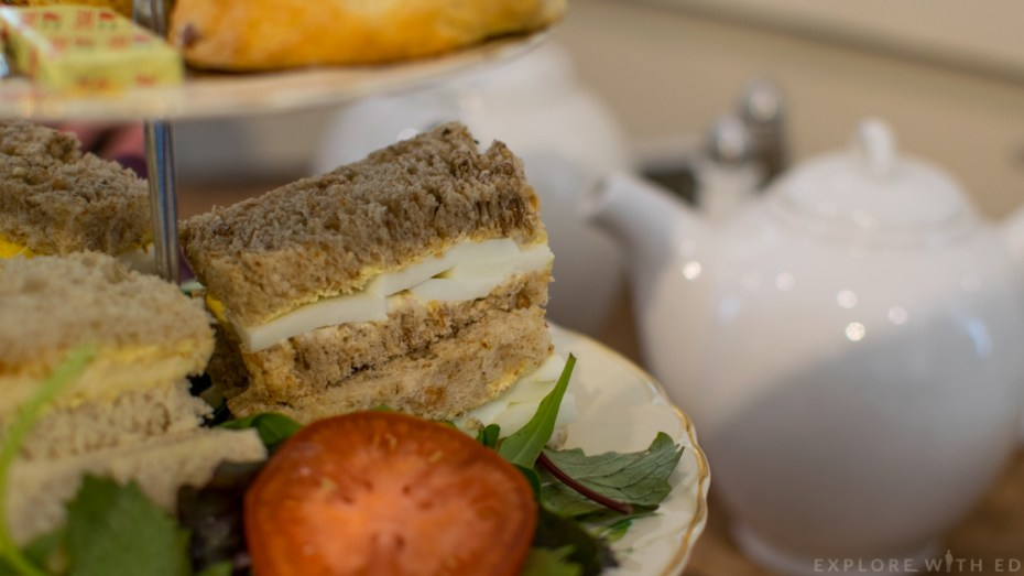 Finger Sandwiches, Pettigrew Tea Rooms