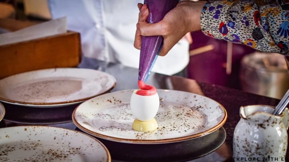 Eton Mess Dessert demonstration