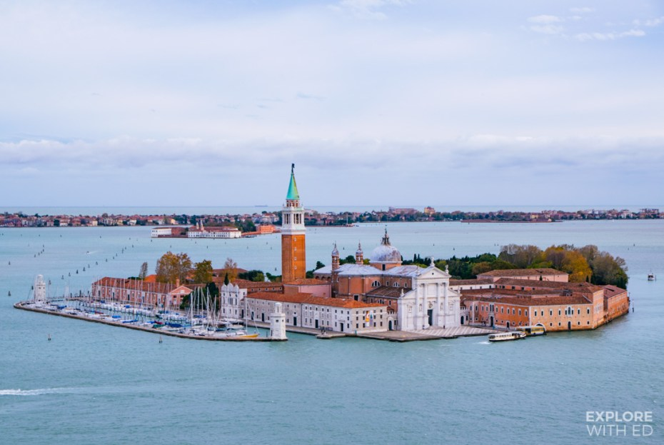 Islands of Venice with the famous red brick Bell Towers