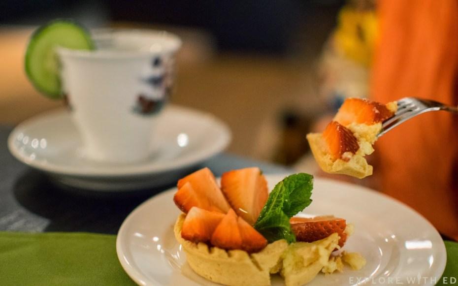 Hendrick's Afternoon Tea, Laguna Bar & kitchen, Strawberry Tart