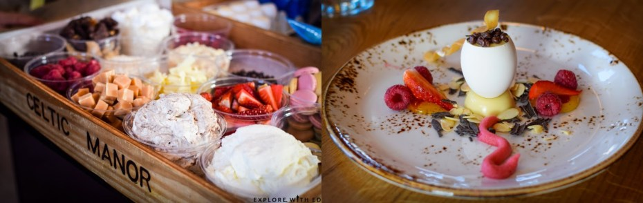 Sweet tray, Eton Mess