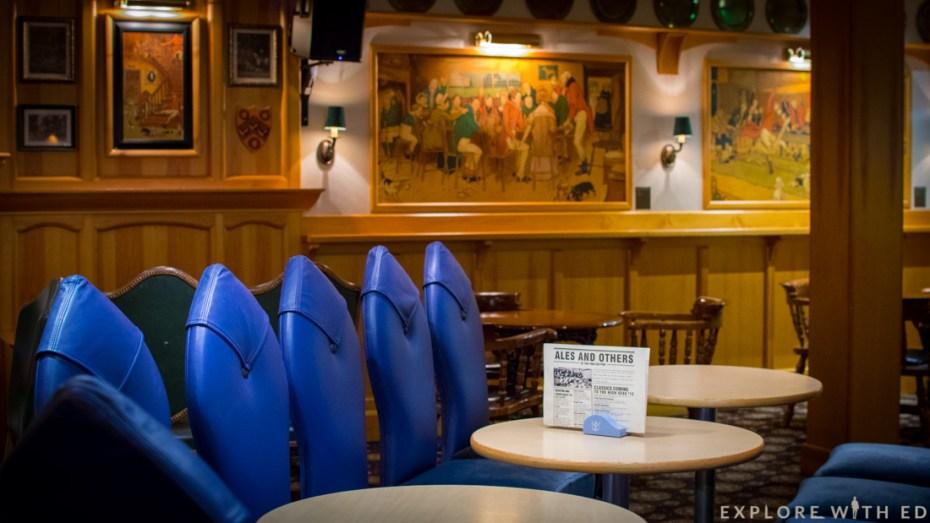 Crown & Kettle pub, Explorer of the Seas, Royal Caribbean