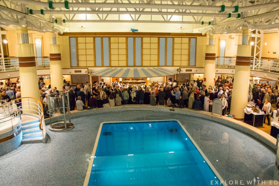 P&O Ventura Christmas Market, Indoor Pool