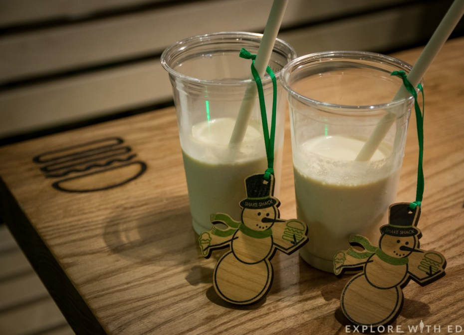 Shake Shack Cardiff Peanut Butter Milkshake