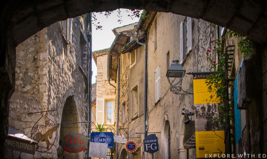 Art galleries in Saint Paul-de-Vence