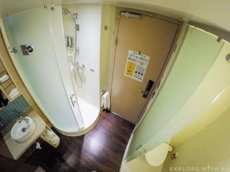 Norwegian Epic Cabin Bathroom