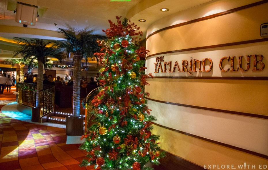 P&O Cruises Ventura, The Tamarind Club
