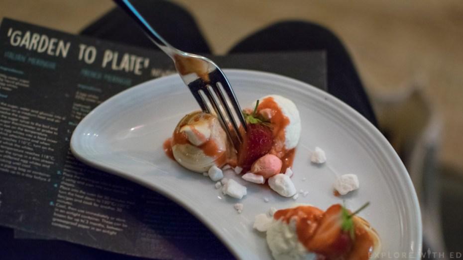 Meringue, Dessert, Turkish Delight, The Celtic Manor, Taste Testing
