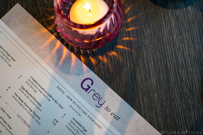 Grey Restaurant Menu Cardiff, Hilton Hotel Restaurant Menu