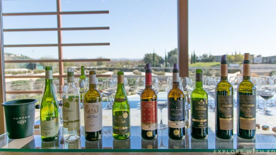 Torres Wine Tasting, Waltraud Winery