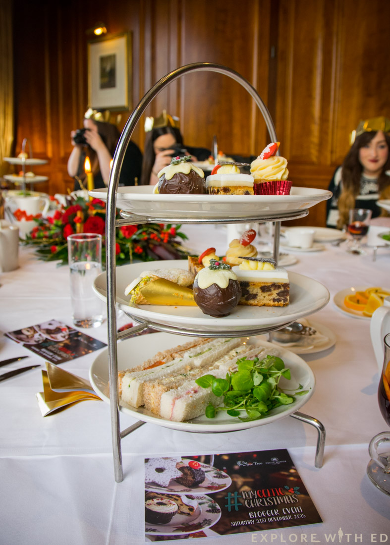 Christmas Afternoon Tea at The Celtic Manor, Olive Tree Restaurant