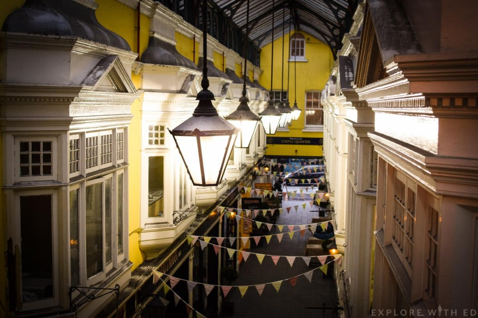 Victorian Arcades in Cardiff