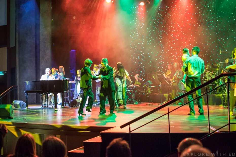 Elton John tribute, Royal Caribbean Jonathan Kane