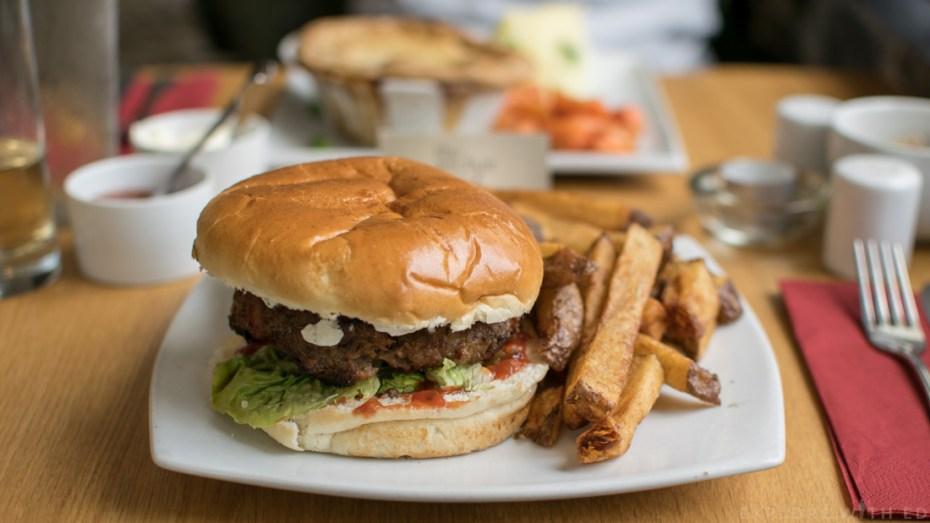 Anchor Burger, Anchor Inn Wales