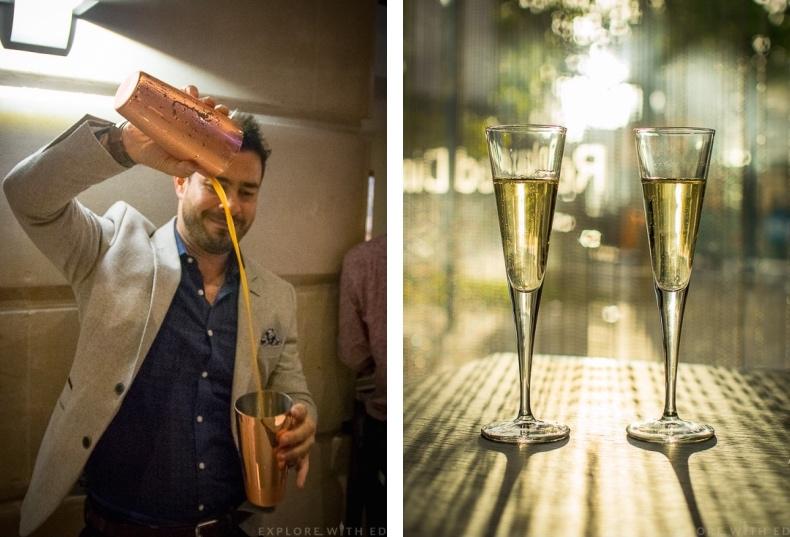 Hilton Hotel Champagne Bar