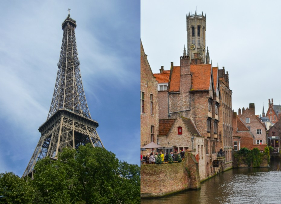 Paris & Bruges