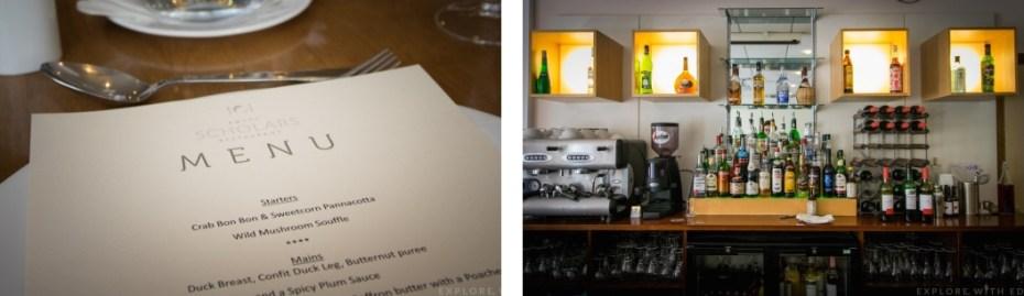 Scholar Restaurant Menu, Ystrad Mynach College