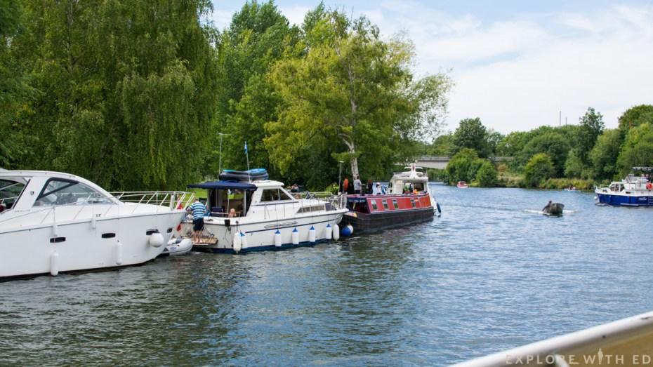 River cruise, Thames, Windsor