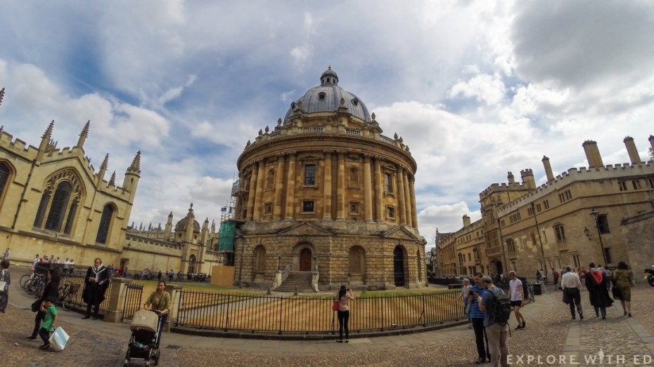 Radcliffe Camera, Oxford University, Oxford