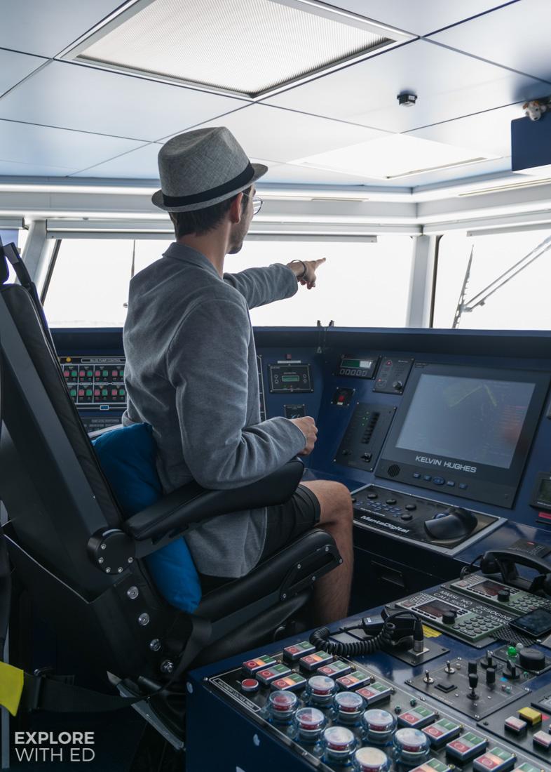 Explore With Ed Wightlink Catamaran