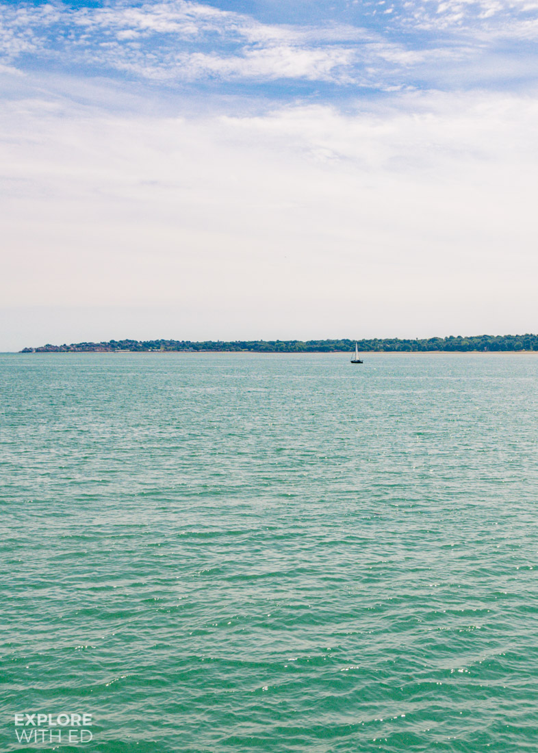 Crossing The Solent from Portsmouth to Isle of Wight