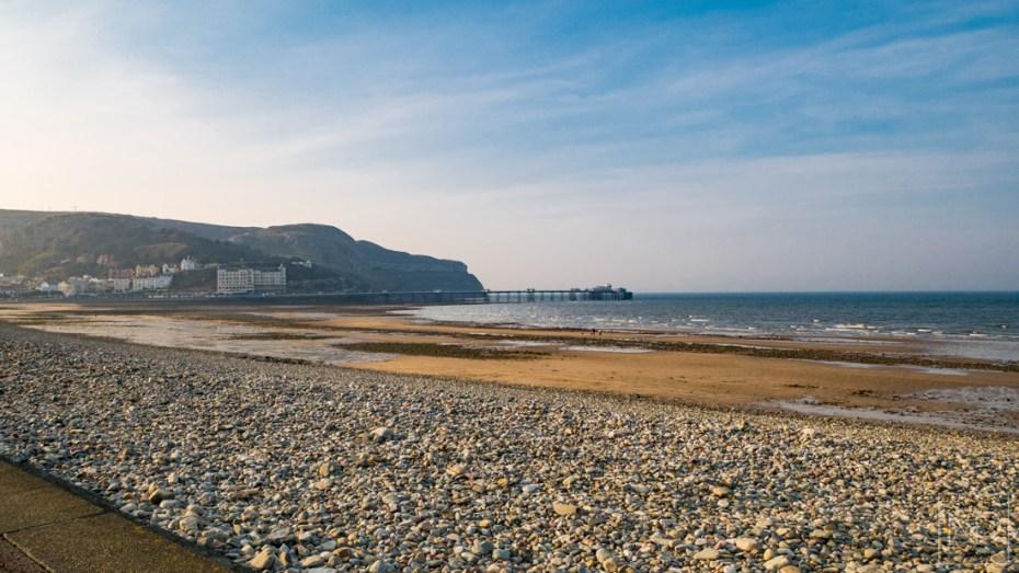 Llandudno sea front and pier