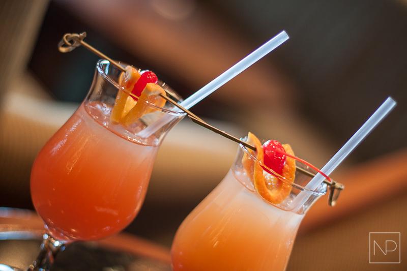 Adagio Bar cocktails