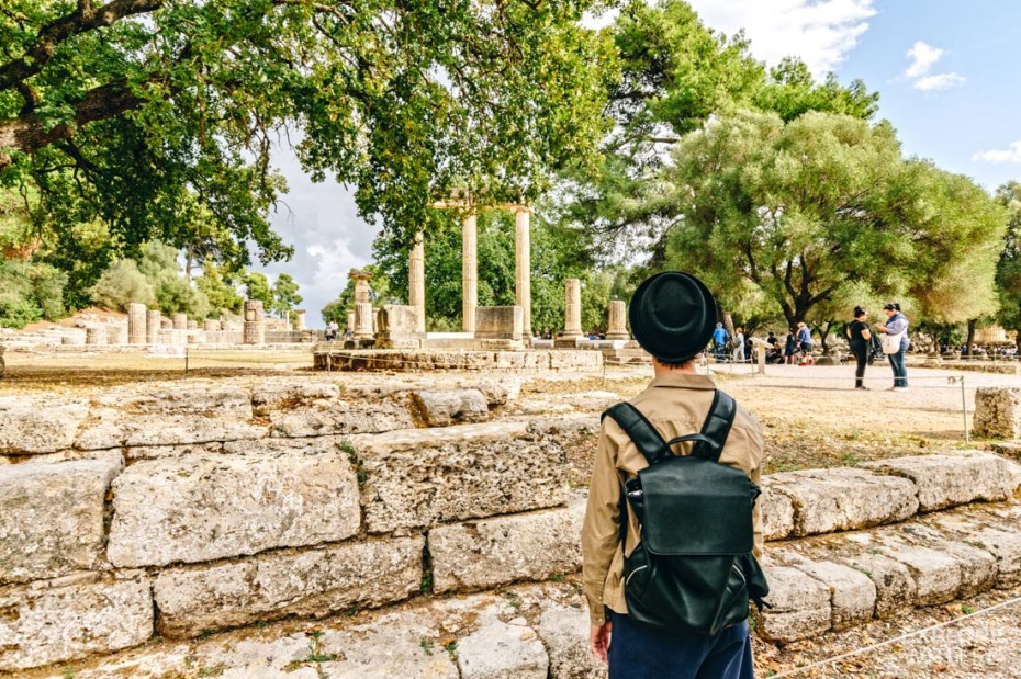 Exploring Olympia in Greece