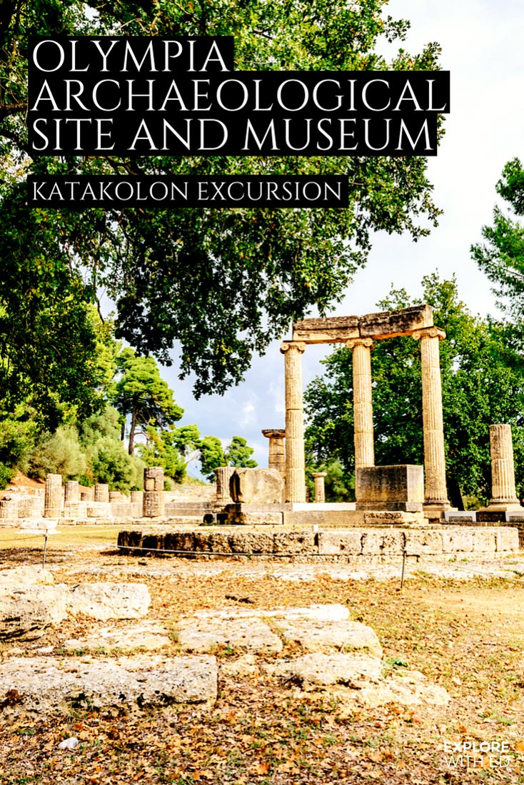A travel guide and tour of Ancient Olympia, the birthplace of the Olympics in Greece