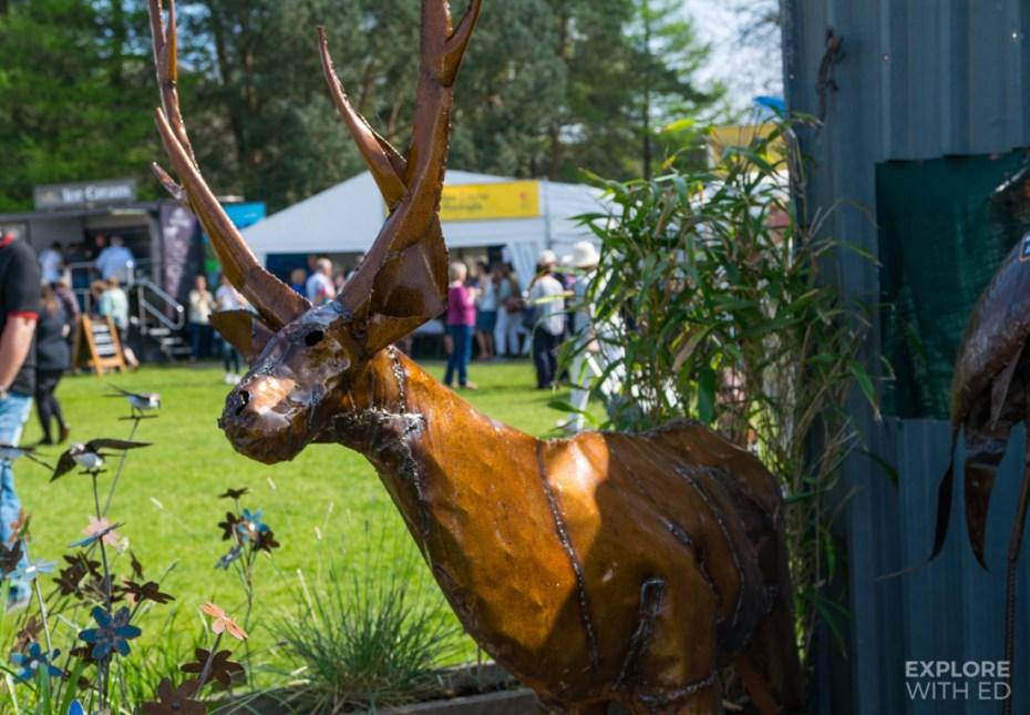 Reindeer Garden Sculpture