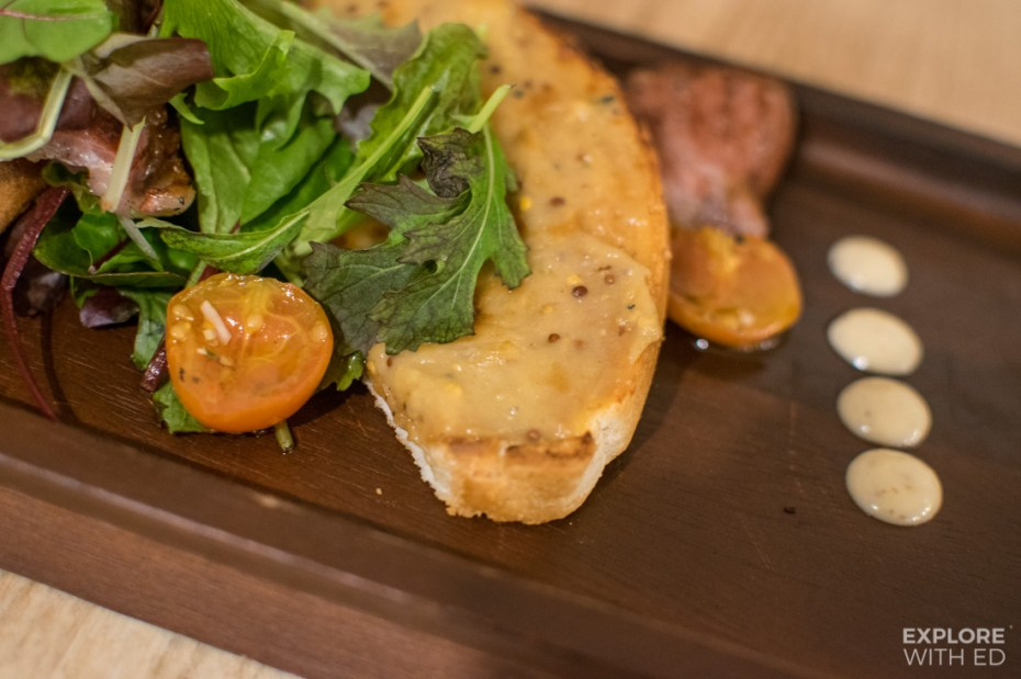 Welsh Rarebit from The Old Swan Inn