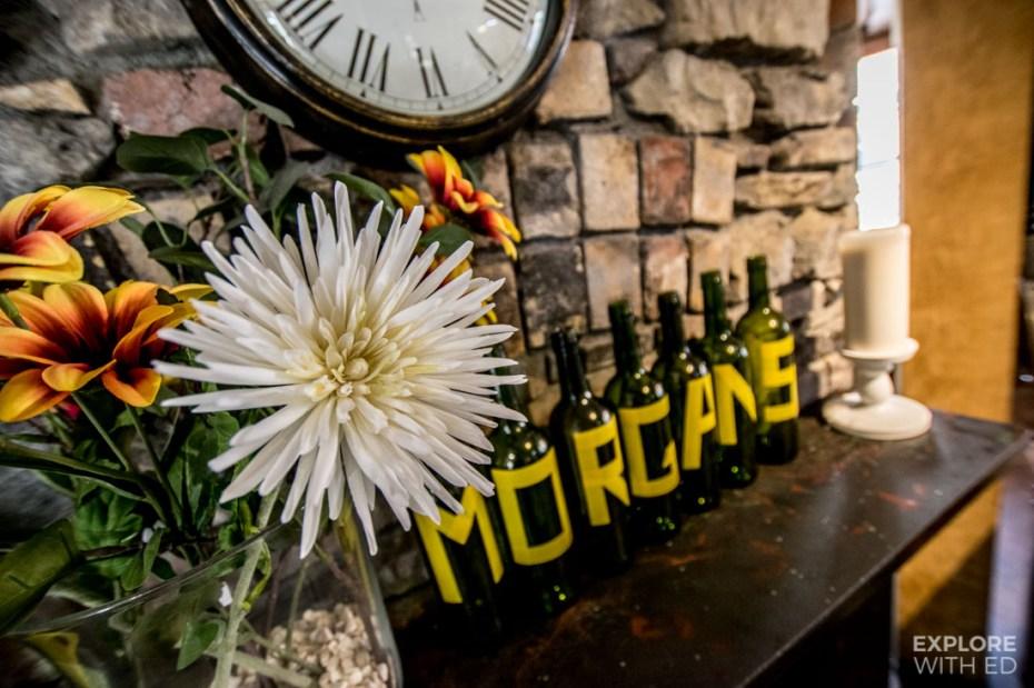 Inside Ty Morgans in Rhayader